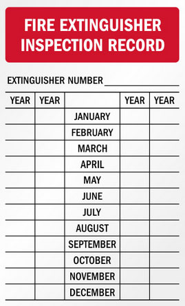 Fire-Extinguisher-Inspection-Record
