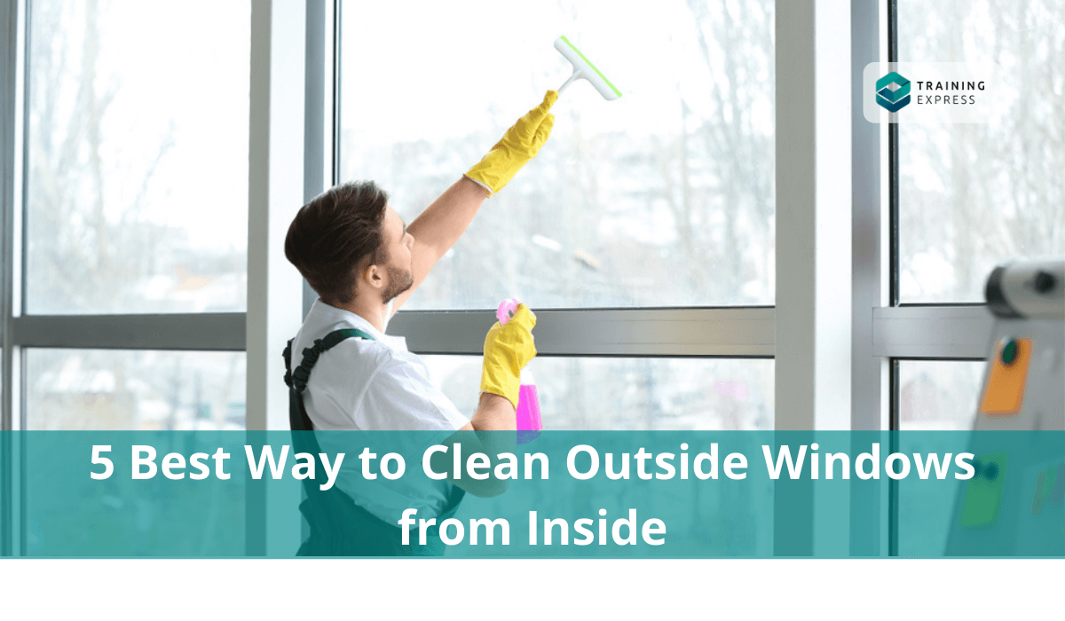 best way to clean outside windows